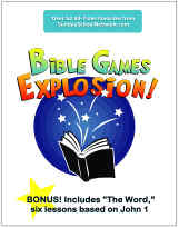 Bible Games for Children's Ministry