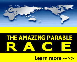 Amazing Parable Race for Children's Ministry, outdoor Bible lessons