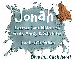 Jonah and the Big Fish Bible Lessons