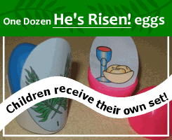 Easter Egg Craft Resurrection