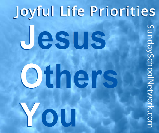 JOY is Jesus Others You