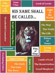 Names of God Bible Lessons for Children